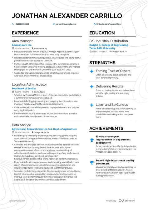 Operations Manager Resume by Operations Manager Resume Exle And Guide For 2019