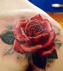 Tatouage De Rose : tatouage tous les motifs roses pour un tattoo ~ Melissatoandfro.com Idées de Décoration