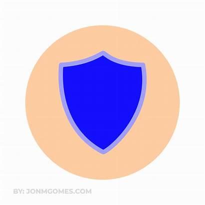 Icon Shield Animation Animated Gifs Web