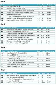 Program And Diet For Those That Want To Stay Lean Year Round  Come On In