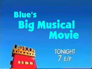 Cartoon Theatre Promo- Blues' Big Musical Movie by ...