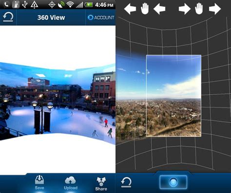 Panoramic Android 360 panorama app for android launched