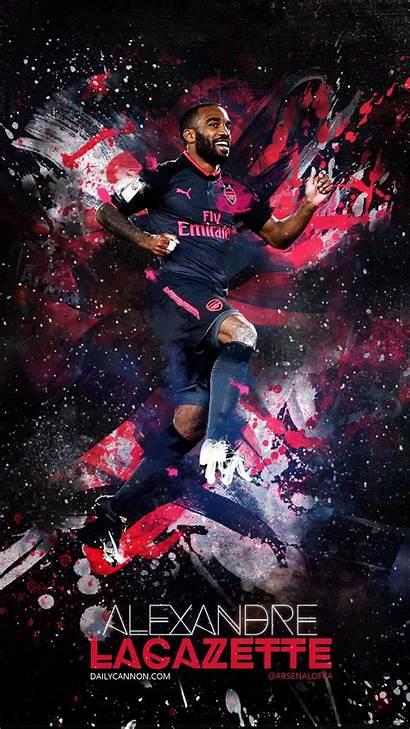 Arsenal Lacazette Iphone Phone Alexandre Wallpapers 3d