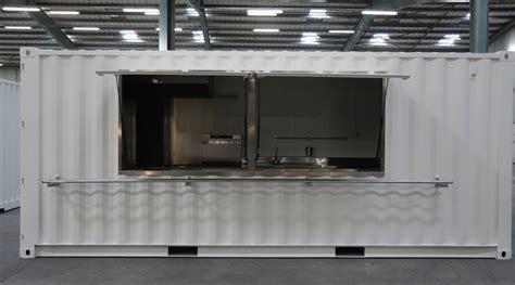 cuisine professionnelle mobile containers aménagés en cuisines mobiles containers