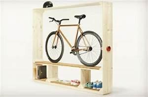Aufbewahrung Von Fahrrad Im Wonzimmer Idee Von
