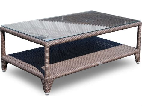 Shop our wide selection of teak coffee table today. Hospitality Rattan Outdoor Kenya Aluminum Wicker 48 x 28 Rectangular Coffee Table | 62024-JCPP