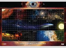 Want the Cosmos Calendar?? It's Here! Dan's Wild Wild