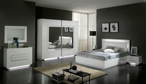 meuble de rangement chambre à coucher lit avec coffre de rangement city laque blanc chambre à