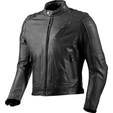 black motorbike jacket rev it redhook classic motorcycle cowhide leather vintage