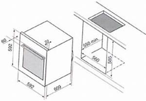 Refrigerateur Sous Plan De Travail : nos conseils d 39 installation pour votre four darty vous ~ Farleysfitness.com Idées de Décoration