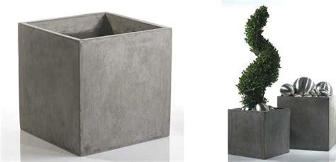 square concrete planter newport square concrete planter contemporary indoor