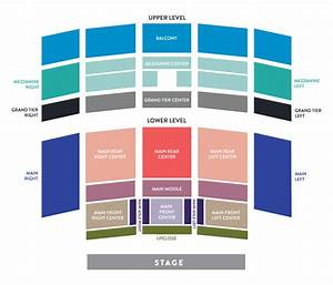 San Diego Symphony Hall Seating Chart Tickets Events Ticket Office Seating Charts
