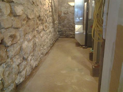 American Waterworks Basement Waterproofing Before And