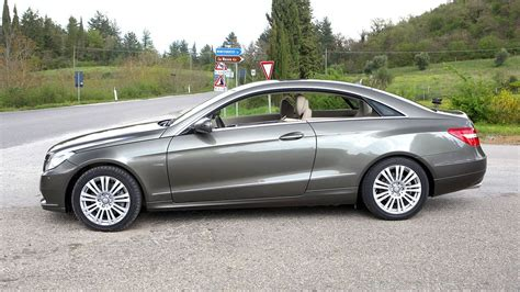 2010 Mercedes Eclass Coupe Is Based On W204 Cclass Platform