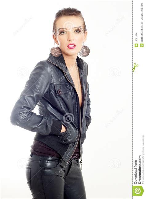 Punk rock fashion girl stock photo. Image of caucasian - 12082554