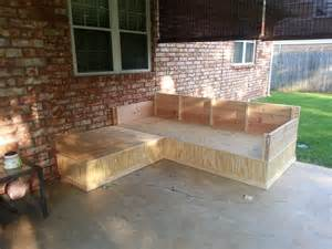 ana white outdoor seating area from outdoor sectional