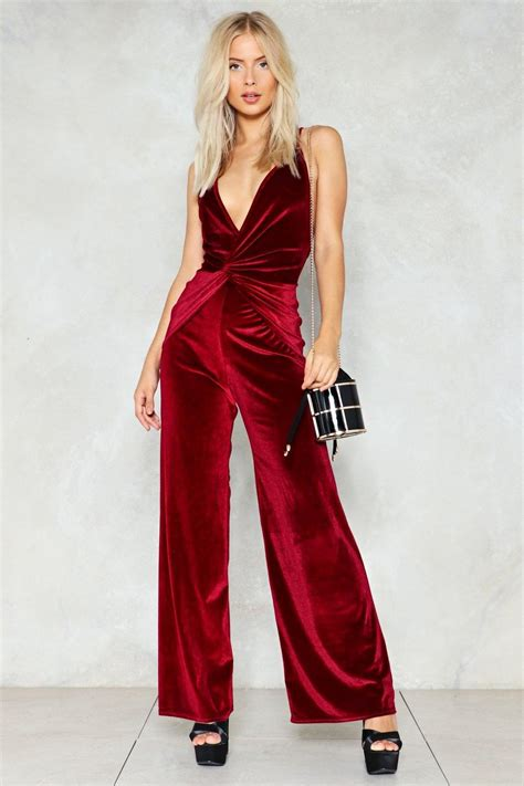 Velvet Jumpsuit Trend is going To Be Hit u2013 Designers Outfits Collection