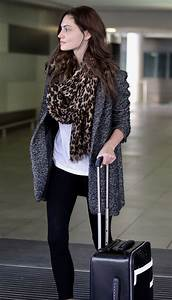 Phoebe Tonkin - Arrives at Brisbane Airport in Australia ...
