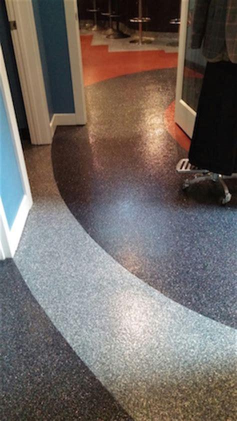 Commercial Decorative Quartz & Flake Flooring Systems
