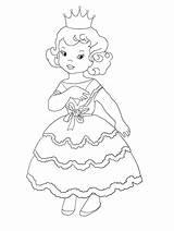 Princess Coloring Colouring Sheet A4 Adorable Dpi Them sketch template