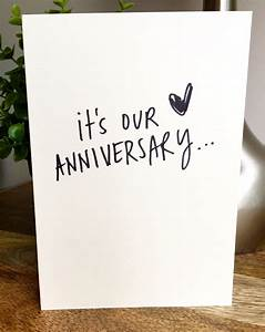 one year anniversary card for husband paper anniversary With one year wedding anniversary card