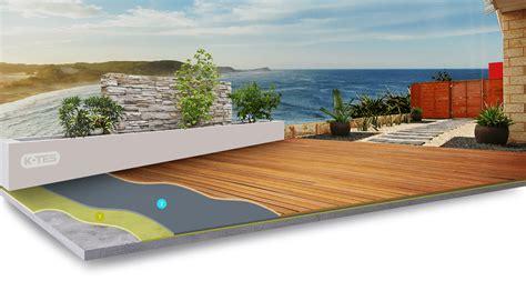 Holzbelag Für Terrassen by Abdichtung Unter Holzbelag Terassen Wasserabdichtung F 252 R