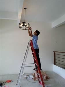Pasang Kipas Dan Lampu Rumah Baru Salak Perdana