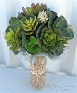 succulent boutonniere wedding bouquet artificial succulent by brideinbloomweddings