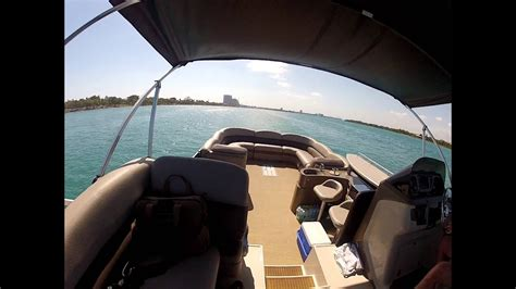 Evinrude Miami Boat Show by Premier Pontoon Evinrude E Tec 300 Fort Lauderdale To