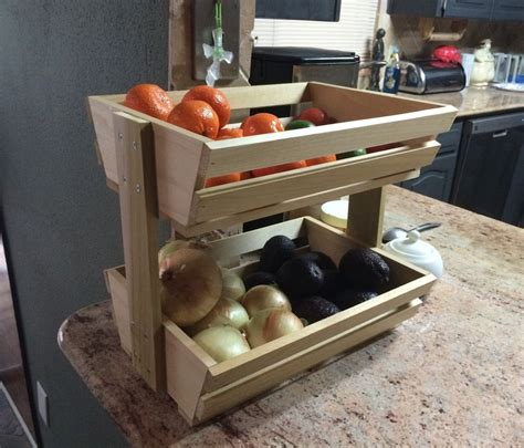 easy fruitveggie holder woodworking projects  sell