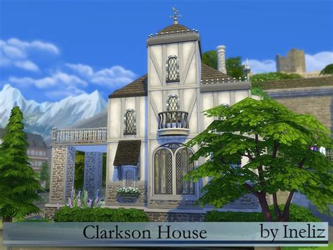 Clarkson House by Clarkson House By Ineliz At Tsr 187 Sims 4 Updates