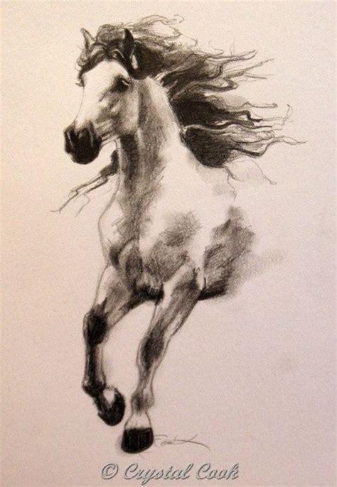 running wild horse sketch google search tattoos