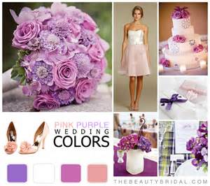 wedding color scheme wedding color schemes pink purple bridal dress wedding gown planning