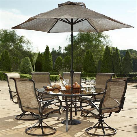 Ee  Round Ee    Ee  Table Ee   Patio Furniture Sets Elegant Grand Resort Oak