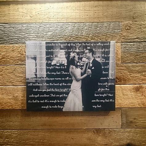 canvas  wedding song lyrics