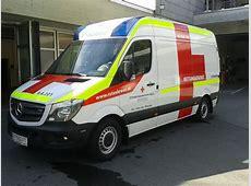 Rotes Kreuz Vorarlberg Rettungstransportwagen RTW