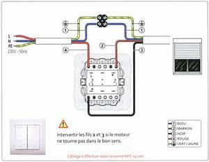 Inter Volet Roulant Somfy : notices de c blage et branchement volets roulants ~ Edinachiropracticcenter.com Idées de Décoration