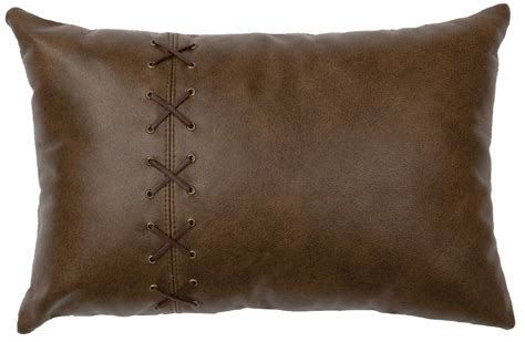 tynan leathersuede lumbar pillow  images leather