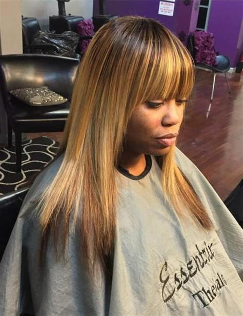 sew ins hair styles with bangs 40 gorgeous sew in hairstyles that will rock your world 3703