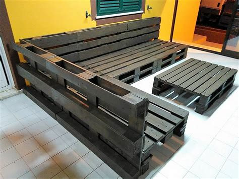 repurposed wooden pallet sofa plan wood pallet furniture