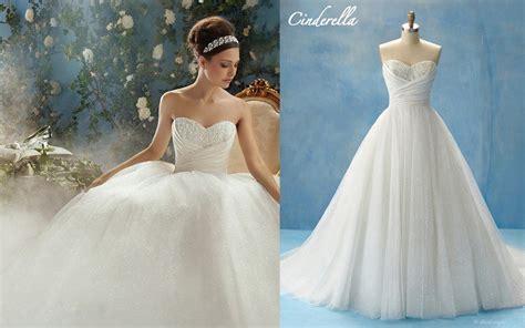 Cinderella Wedding Dress Disney 2015-2016