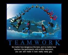 Teamwork Funny Demotivational
