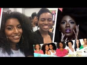 vlog  taliah waajid world natural hair beauty show