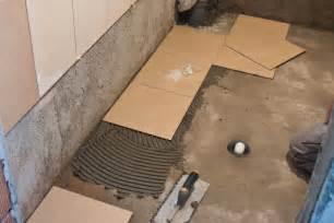 Remove Carpet Adhesive by Tips On Installing Tile Floor In Bathroom Creative Home