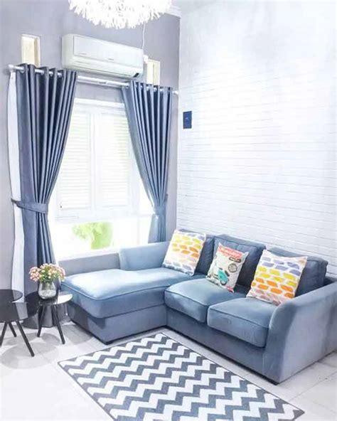 ruang tamu rumah tipe   nyaman  kece badai beri