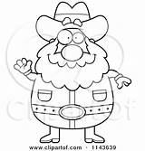 Miner Prospector Cartoon Drawing Coloring Gold Chubby Waving Clipart Thoman Cory Drawings Outlined Vector Getdrawings Loving Arms Open Mining sketch template