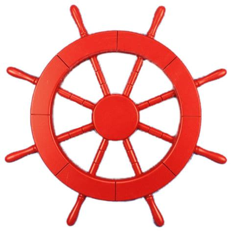 All White Bedroom Decor by Decorative Ship Wheel Red 18 Quot Beach Style Decorative