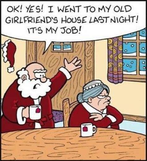 Christmas Sex Memes - joke for thursday 25 december 2014 from site jokes of the day santa and ex girlfriend