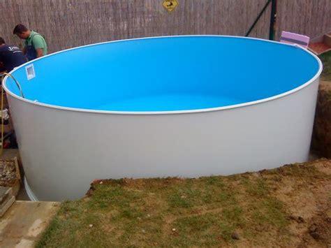 günstige pools zum eingraben das aquapool schwimmbad forum thema anzeigen stahlwandpool ebenerdig einbauen