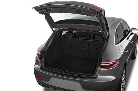 porsche trunk 2017 porsche macan reviews and rating motor trend